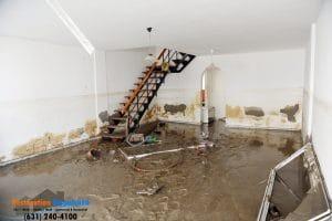 sewage flood basement