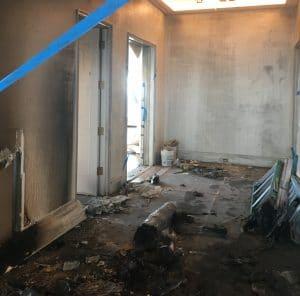 House Fire Room